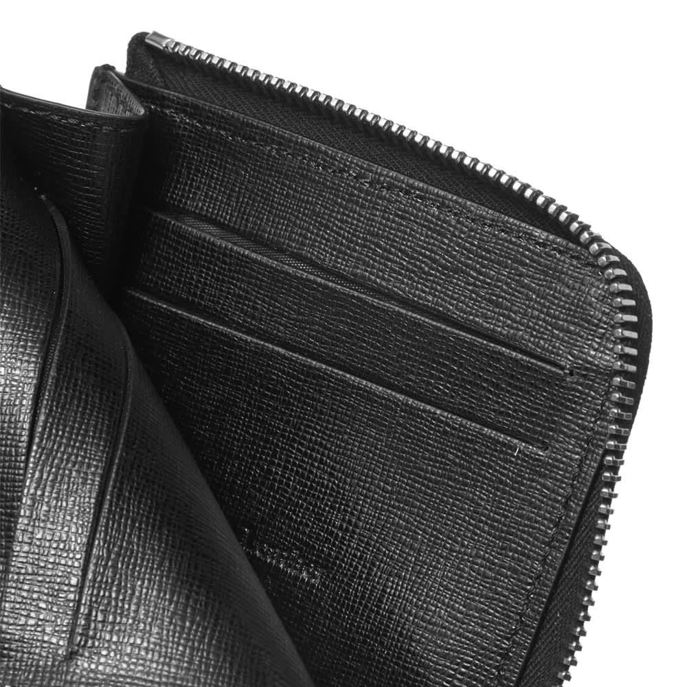 Off-White 3D Diag Saff Zip Wallet - Black