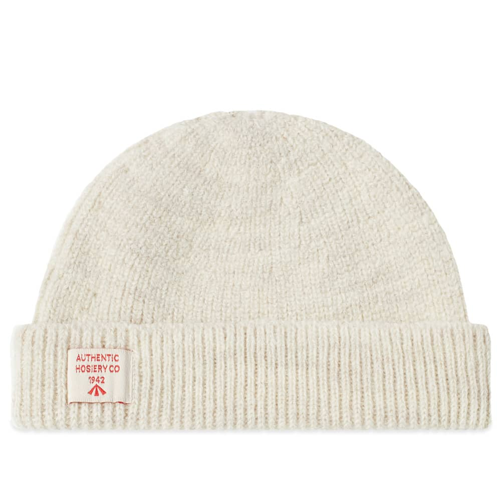 Nigel Cabourn Solid Beanie - Natural