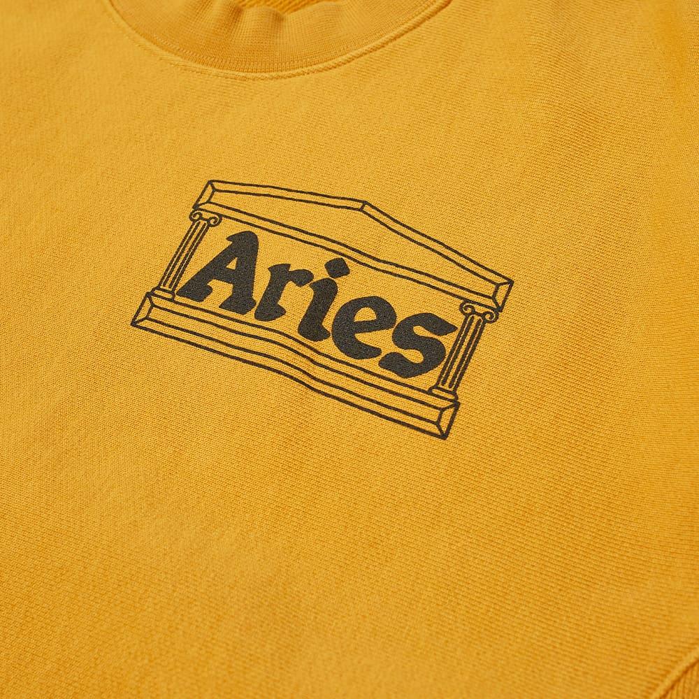 Aries Premium Temple Crew Sweat - Ochre