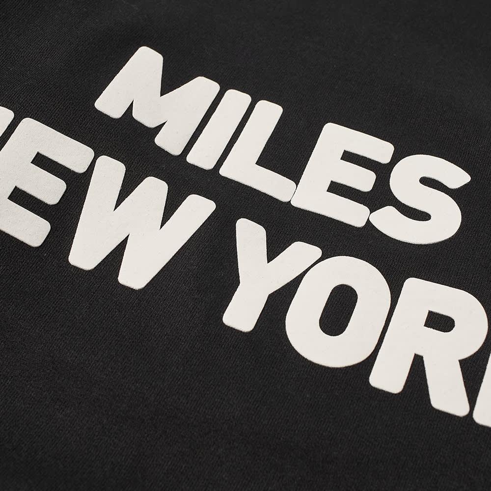 Miles New York Crew Sweat - Black