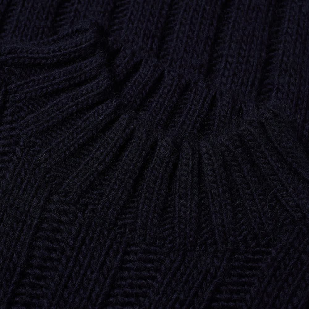 Our Legacy Funnel Neck Knit - Navy