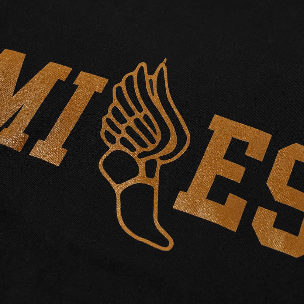 Miles Track Tee - Black