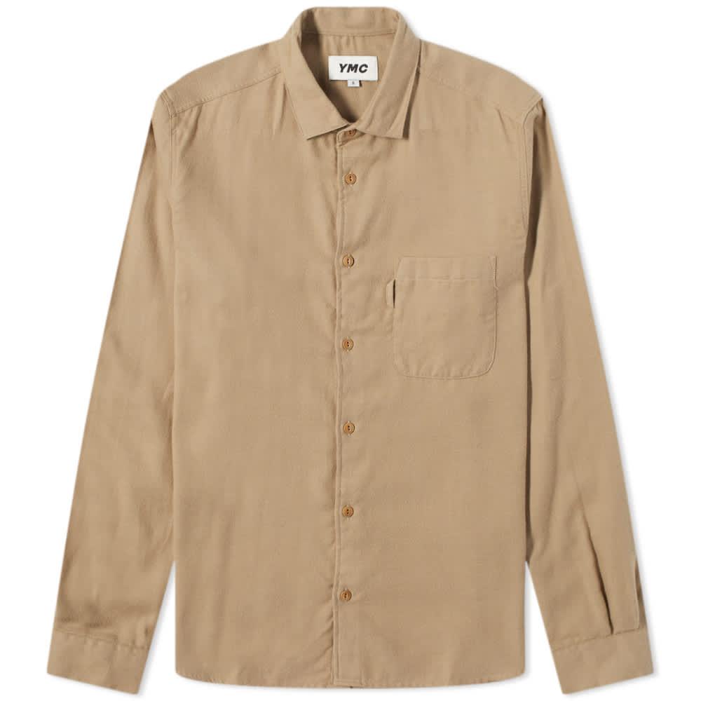 YMC Curtis Shirt - Camel