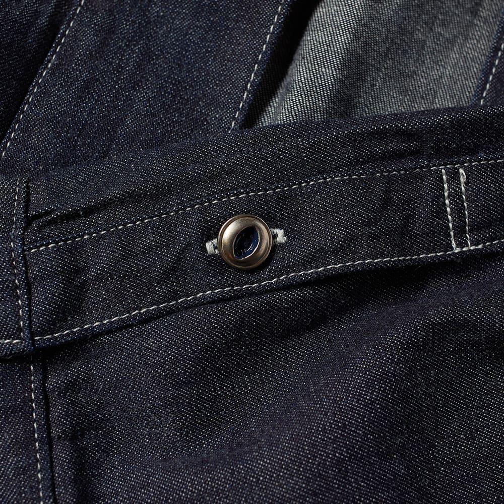 Visvim Lhamo Japanese Denim Shirt - Indigo
