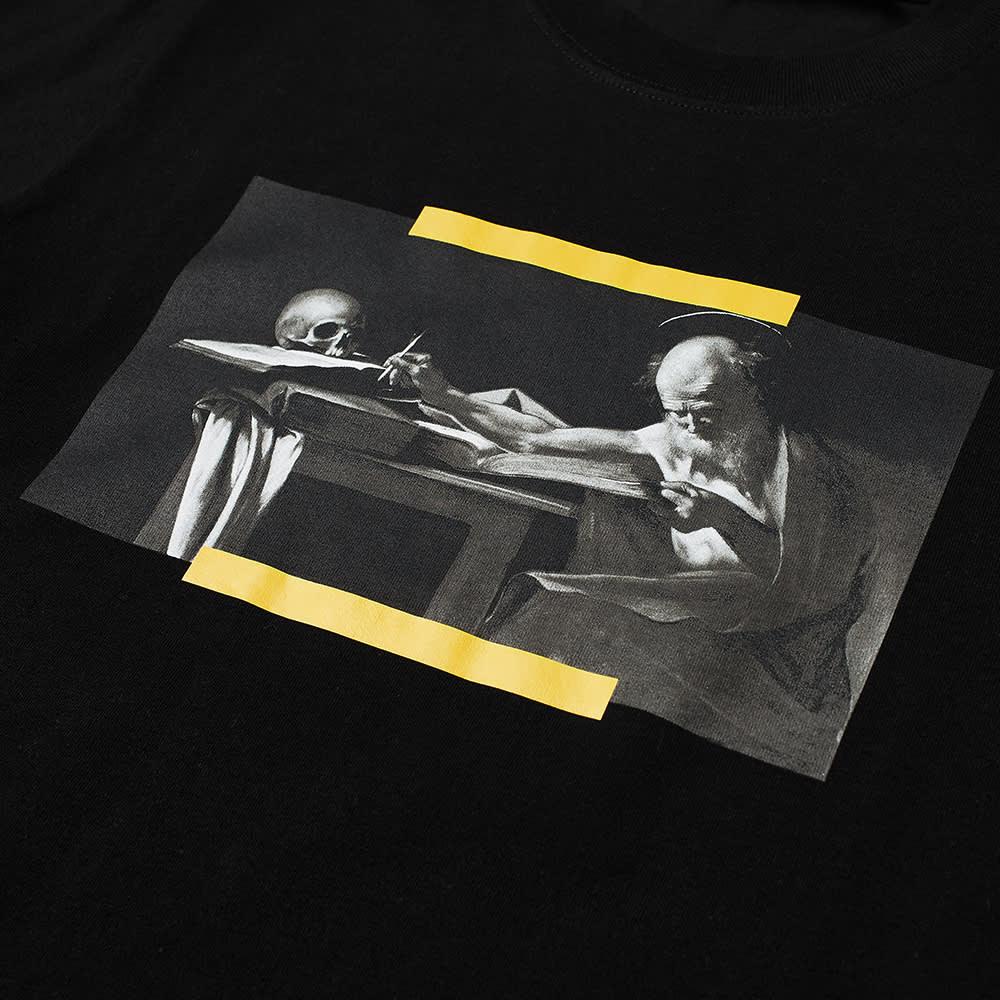 Off-White Slim Caravaggio Painting Tee - Black & Multi