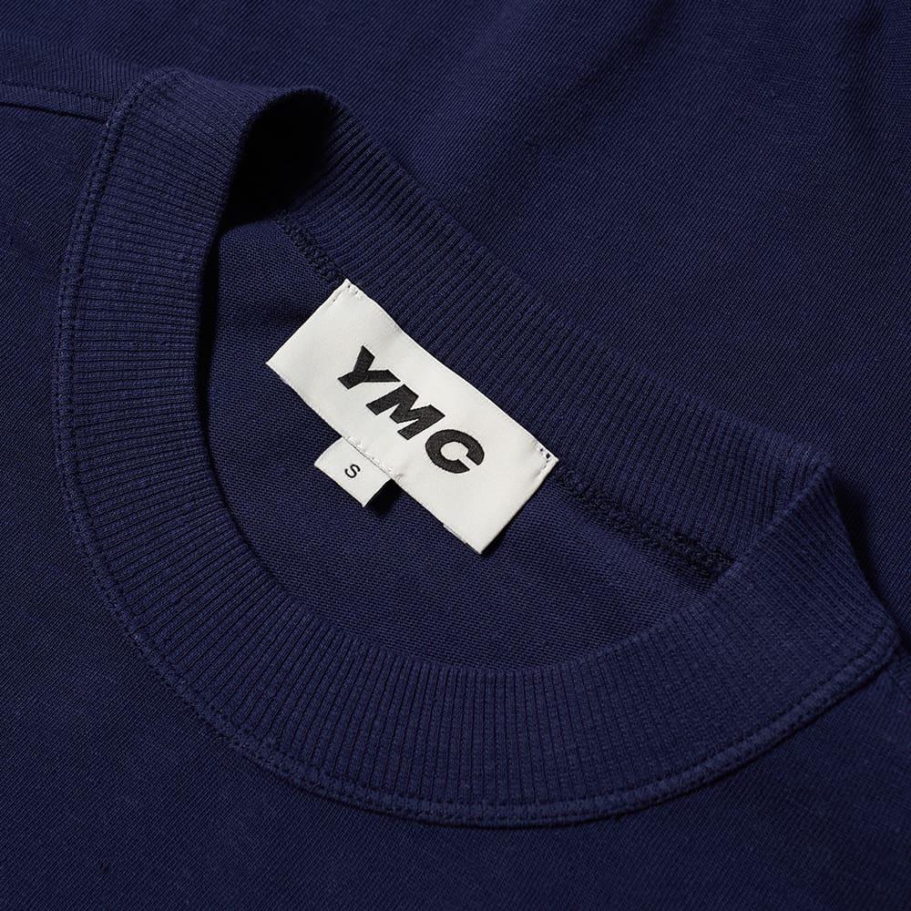 YMC Triple Long Sleeve Tee - Navy