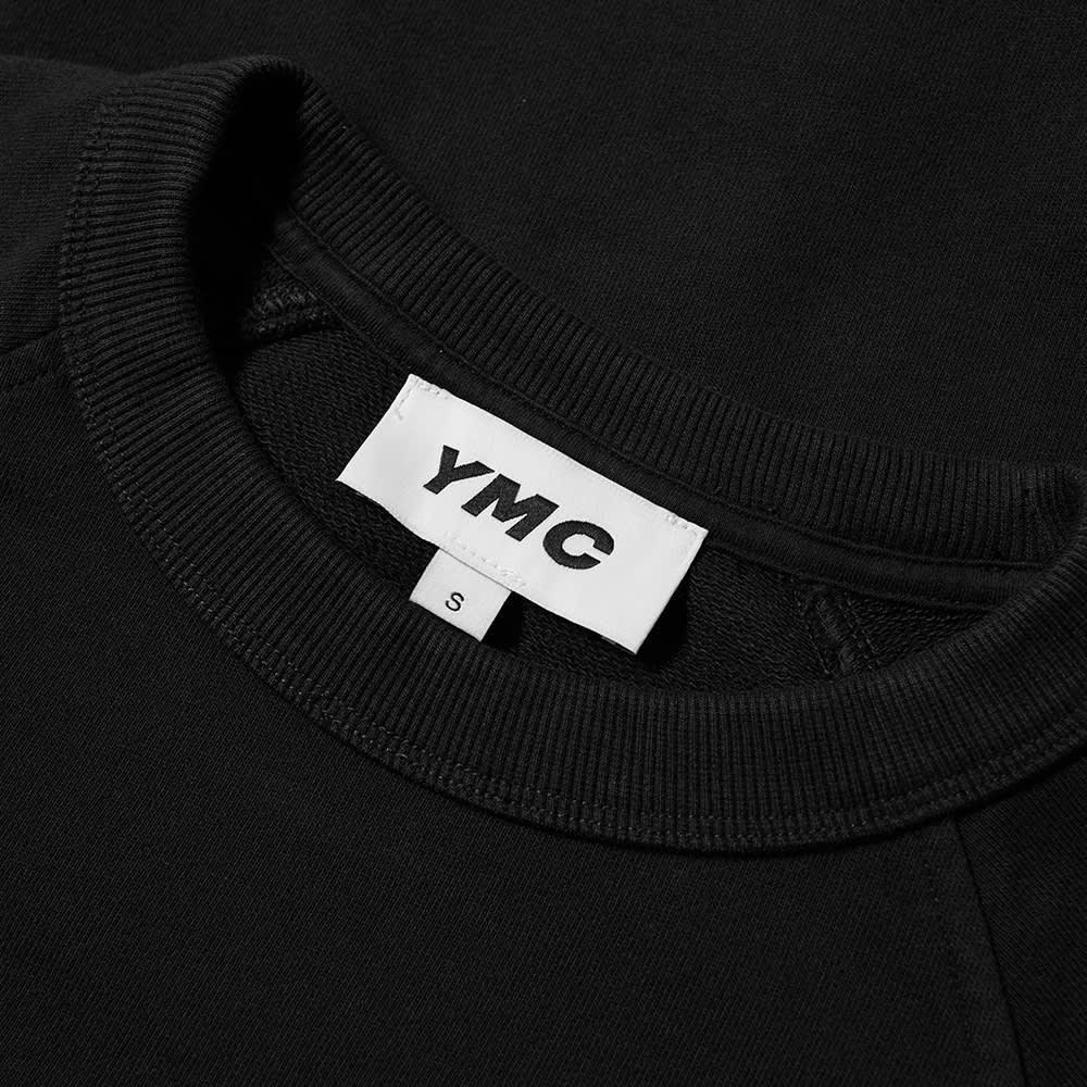 YMC Schrank Raglan Crew Sweat - Black
