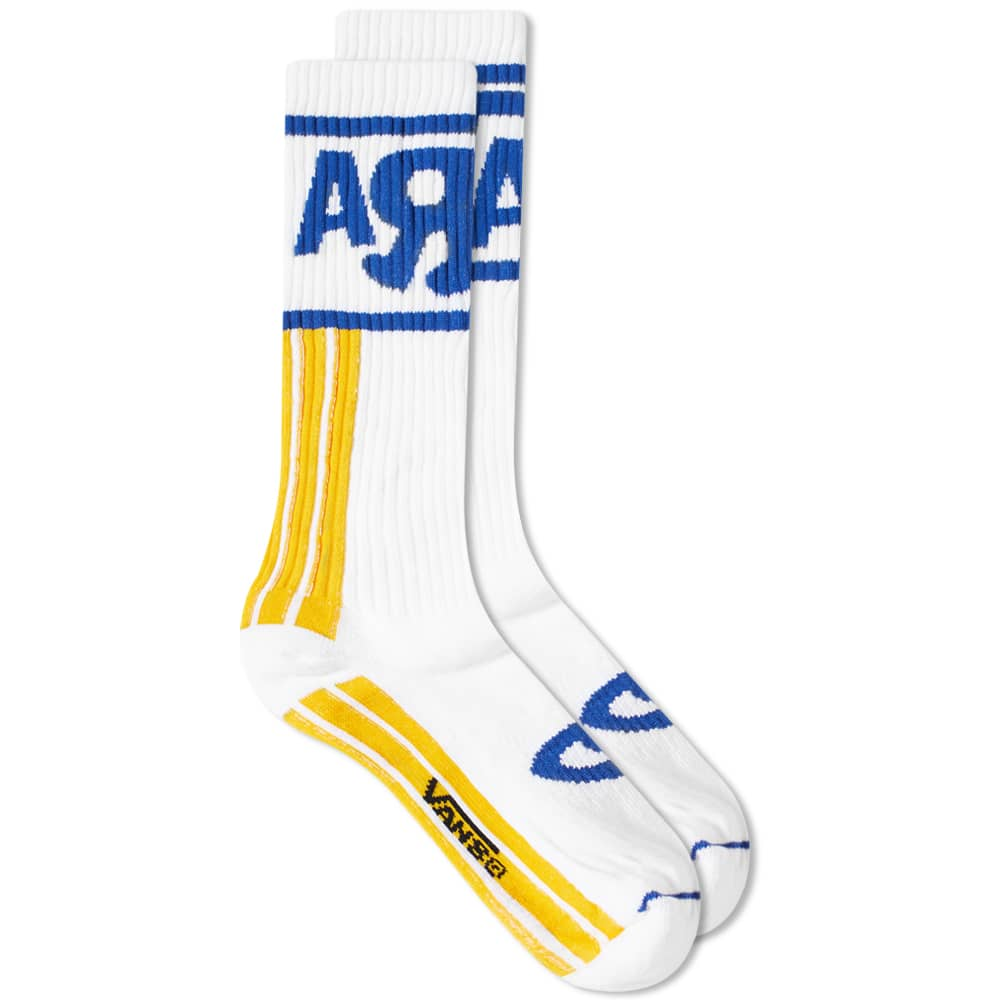 Vans Vault x Aries Sport Sock - White