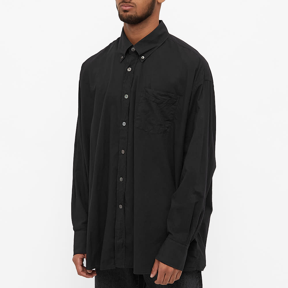 Our Legacy Borrowed Button Down Shirt - Black Voile