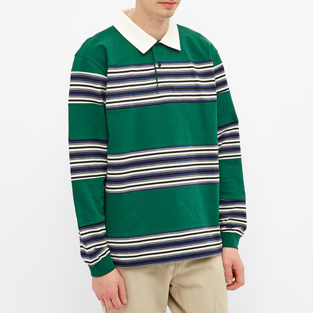 Futur MW G Fit Flush Polo - Forest Green