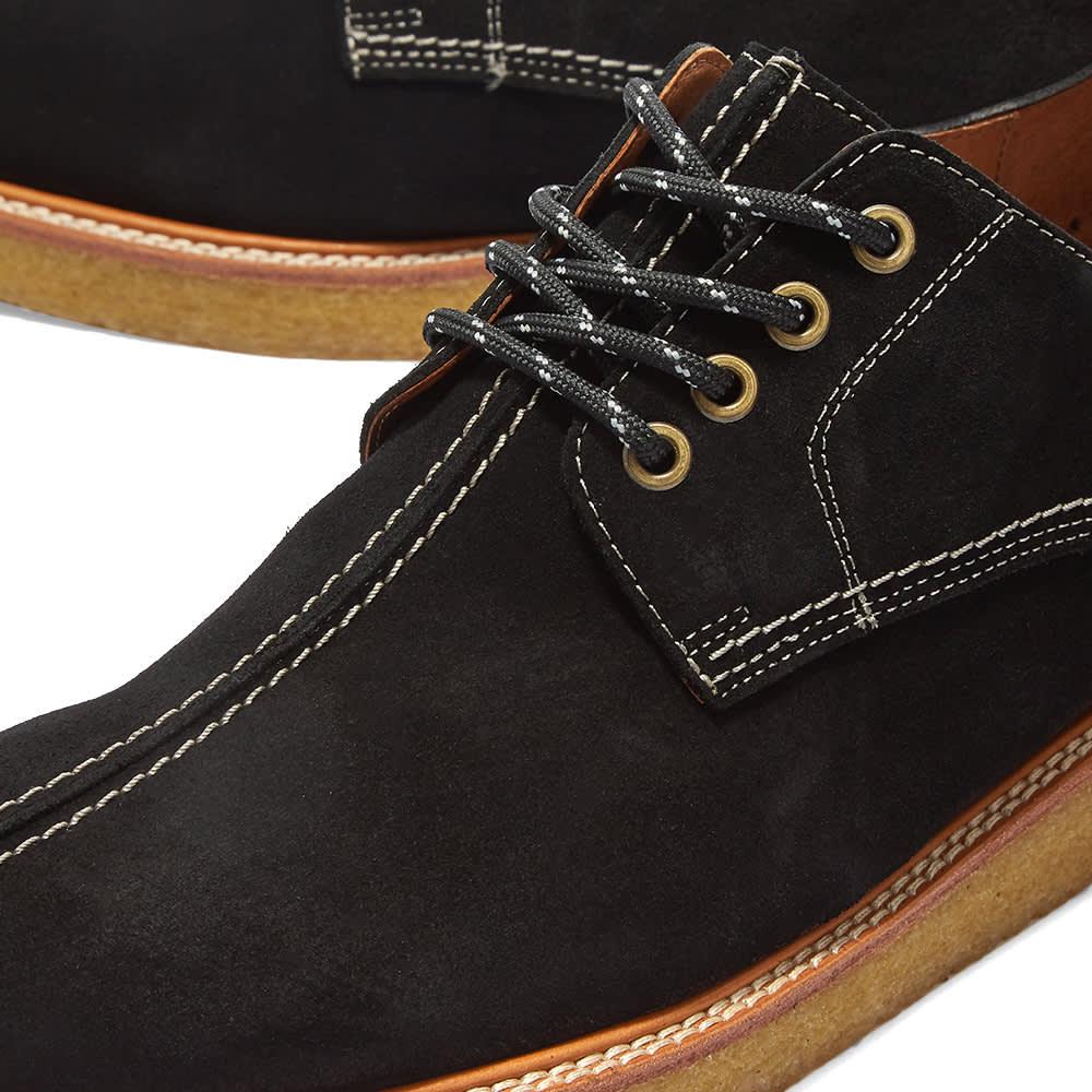 Wild Bunch Seam Shoe - Black Suede