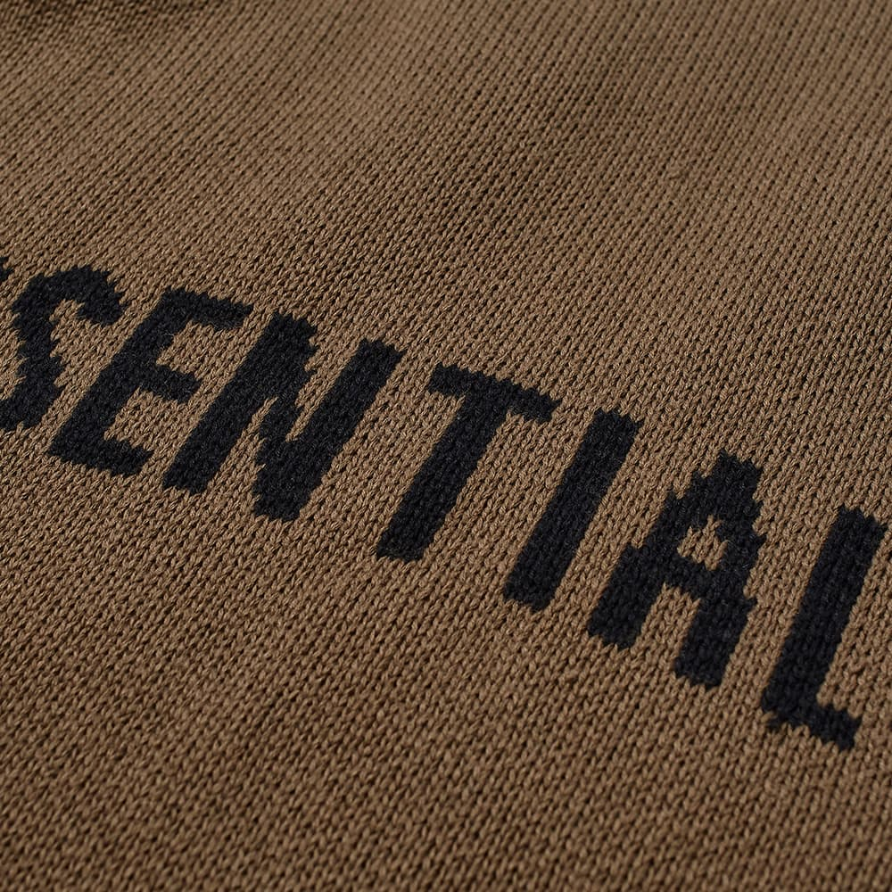 Fear of God Essentials Summer Knitted Hoody - Harvest