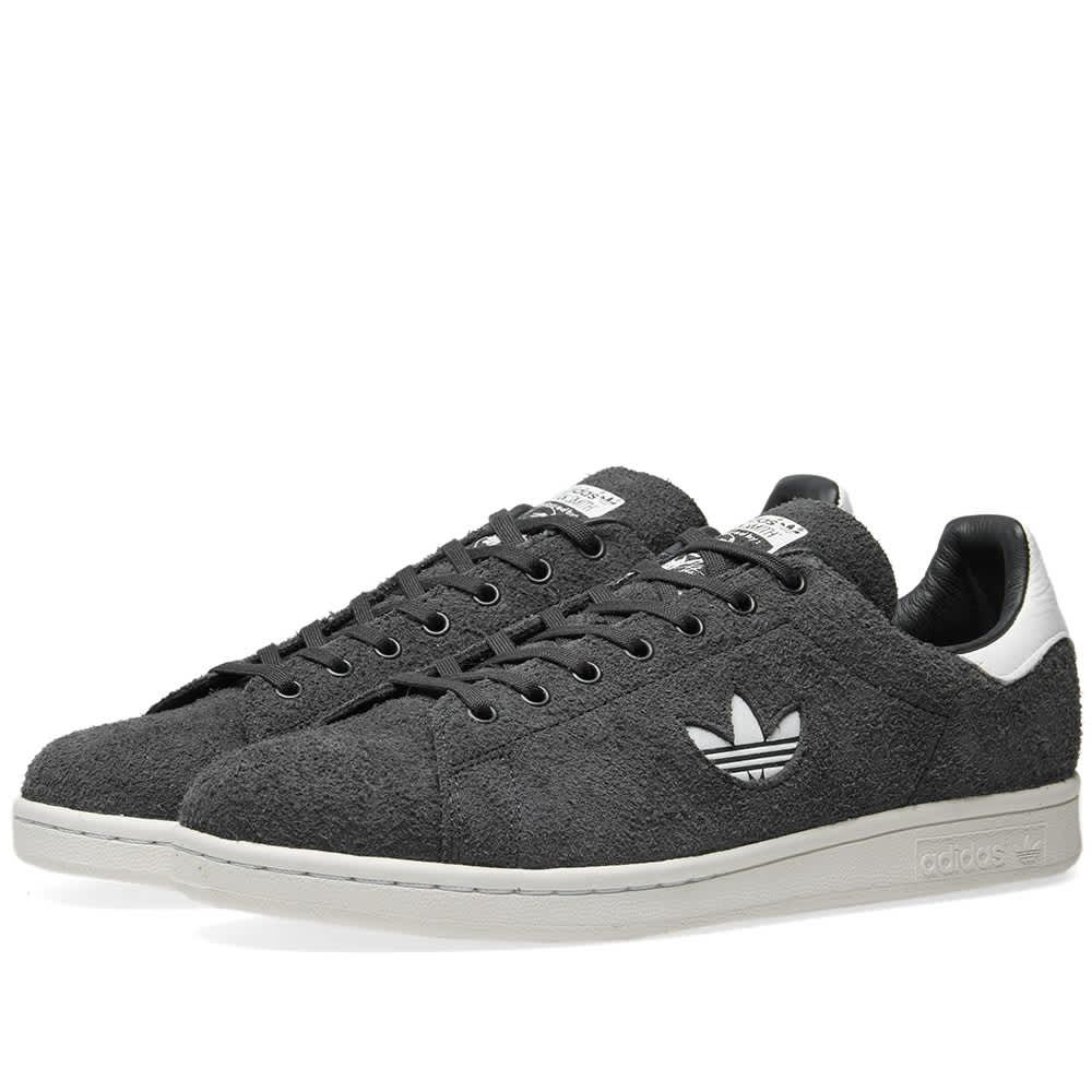 Adidas Stan Smith Premium Suede Carbon