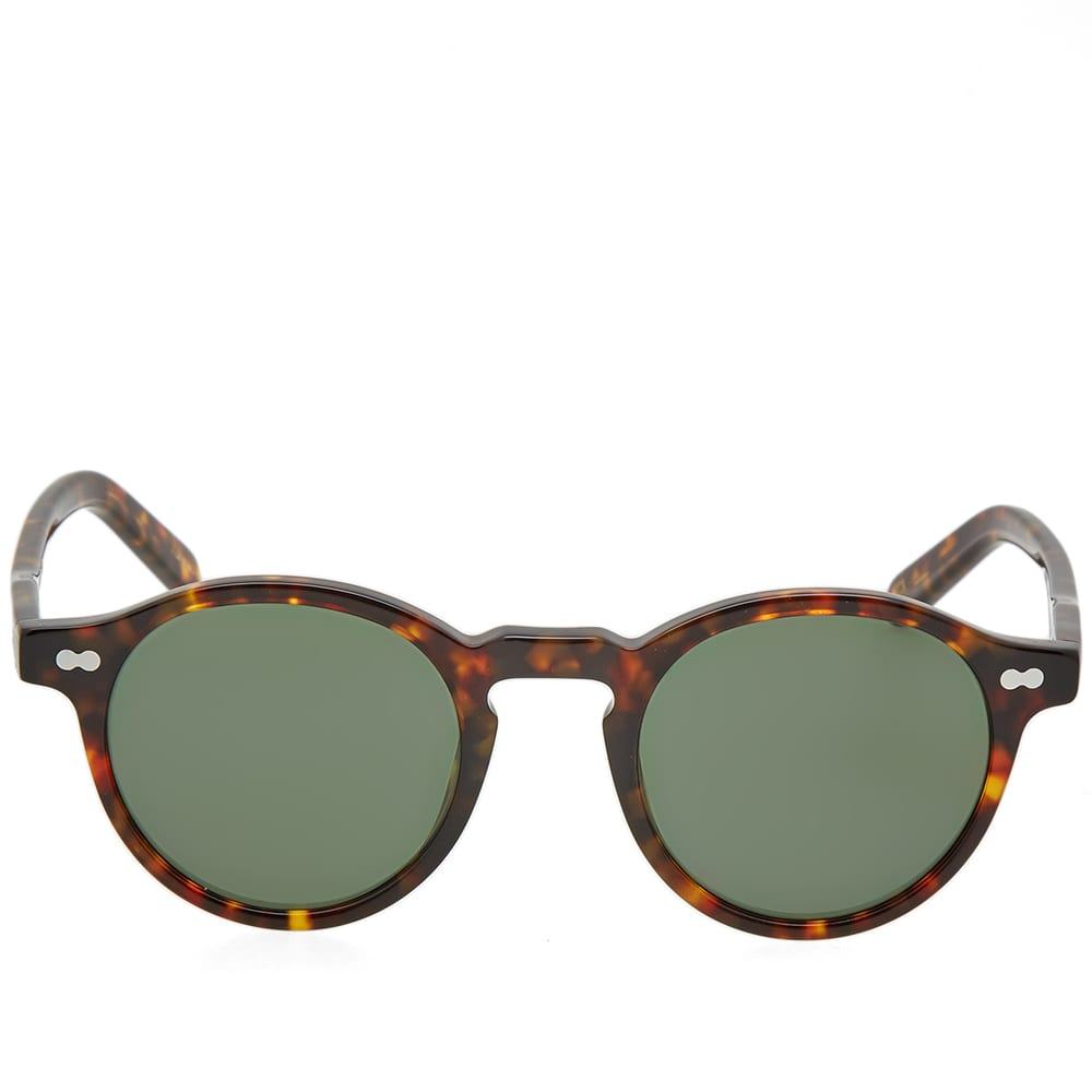 Moscot Miltzen Sunglasses - Tortoise & G15