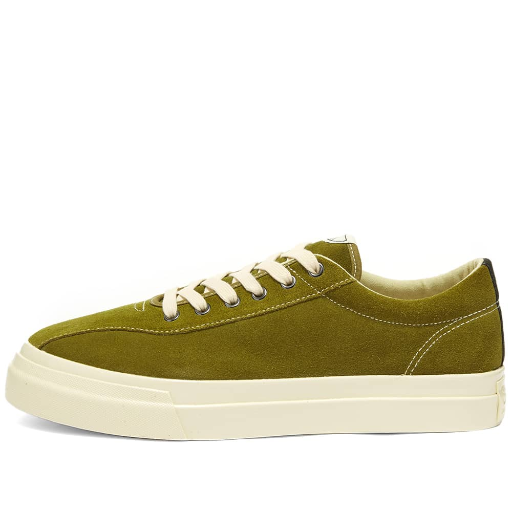 Stepney Workers Club Dellow Suede Sneaker - Military