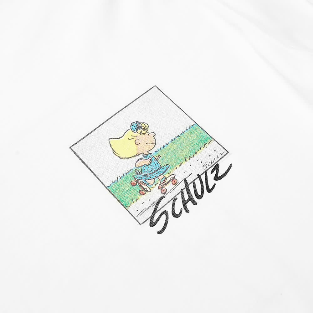 Soulland x Peanuts Long Sleeve Sally Tee - White
