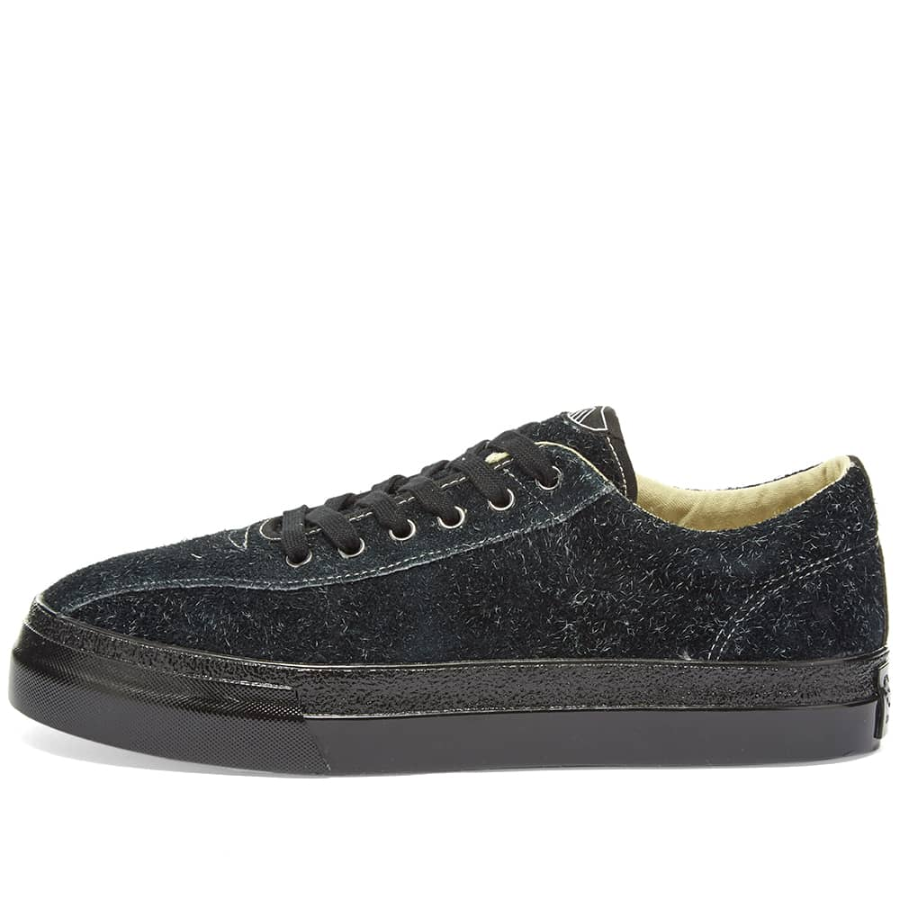 Stepney Workers Club Dellow Hairy Suede - Blk & Blk