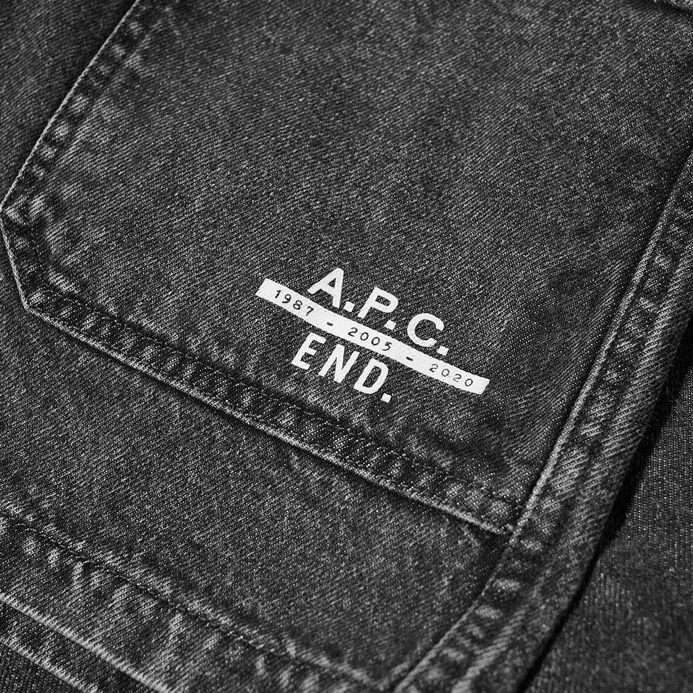 END. x A.P.C. Kerlouan Jacket - Black