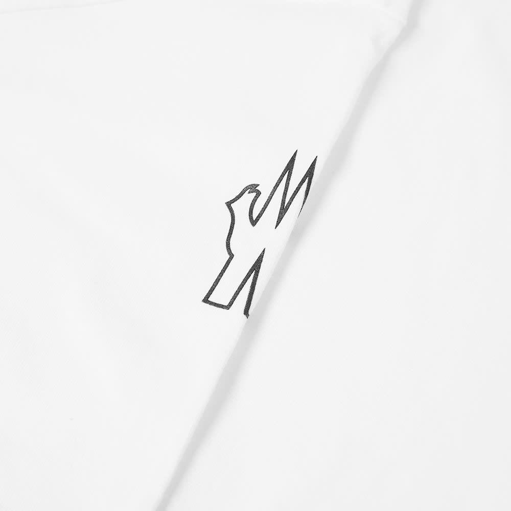 Moncler Grenoble Vertical Logo Tee - White