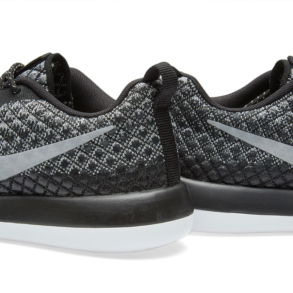 look out for hot sale online clearance prices Nike W Roshe Two Flyknit 365 Wolf Grey, Black & White | END.