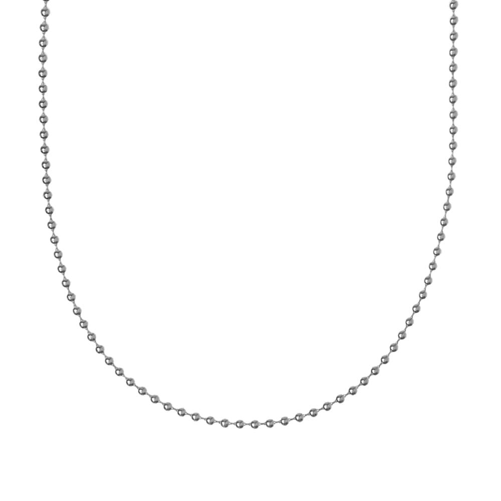 First Arrows 60cm Ball Chain - Silver