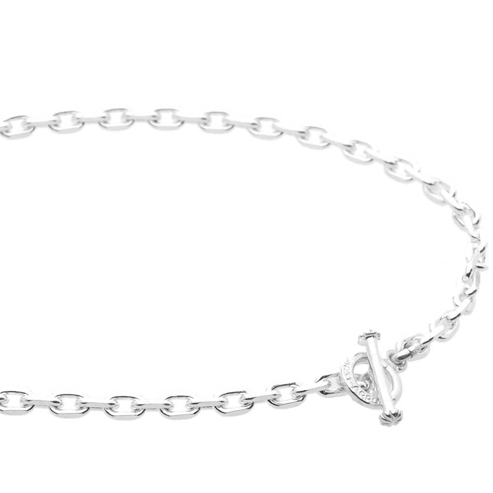 First Arrows 60cm T-Bar Chain - Silver