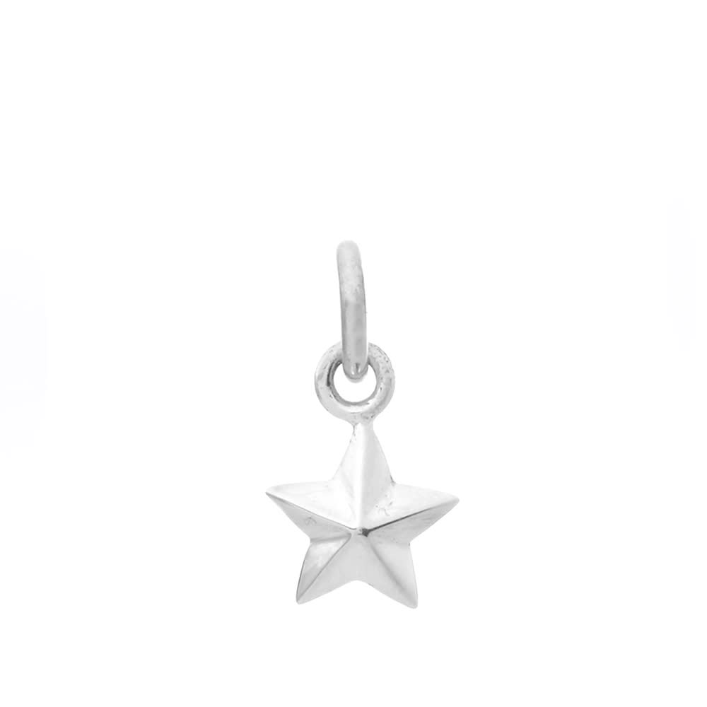 First Arrows Star X-Small Pendant - Silver