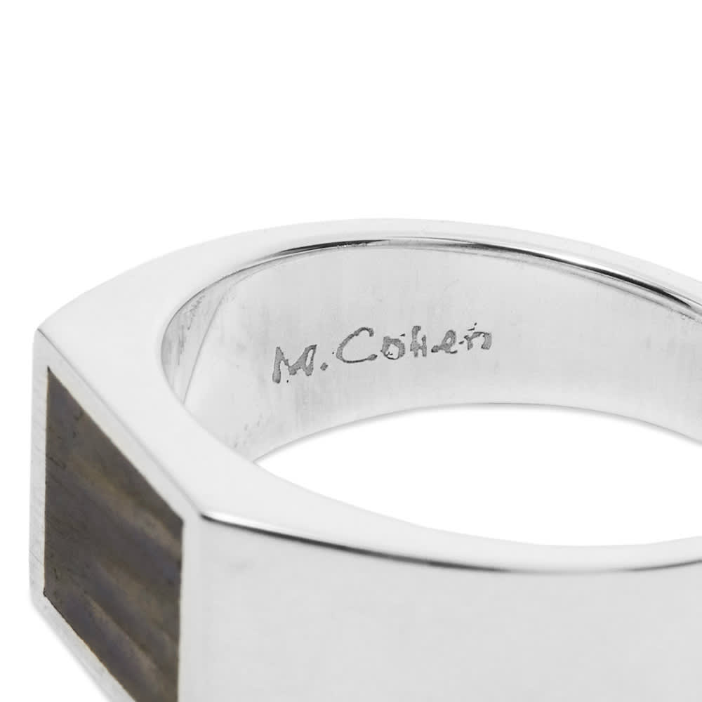 M. Cohen Glib Ring - Silver & Labradorite