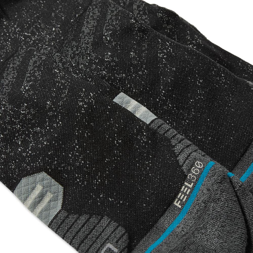 Stance Run Crew ST Sock - 3 Pack - Black
