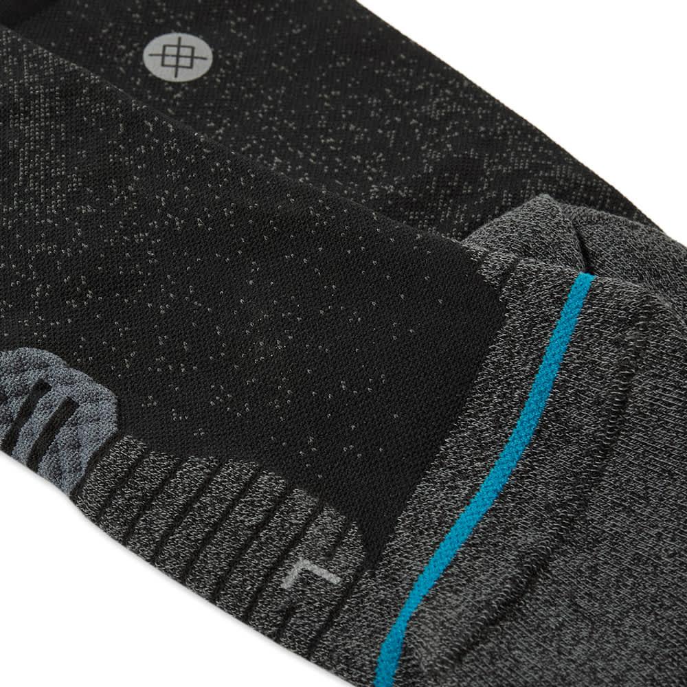 Stance Run Crew Sock - Black