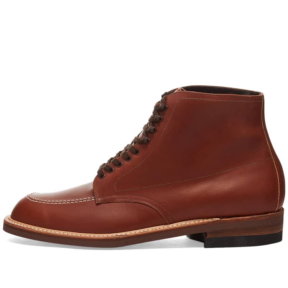 Alden Indy Boot - Brown Calfskin Leather