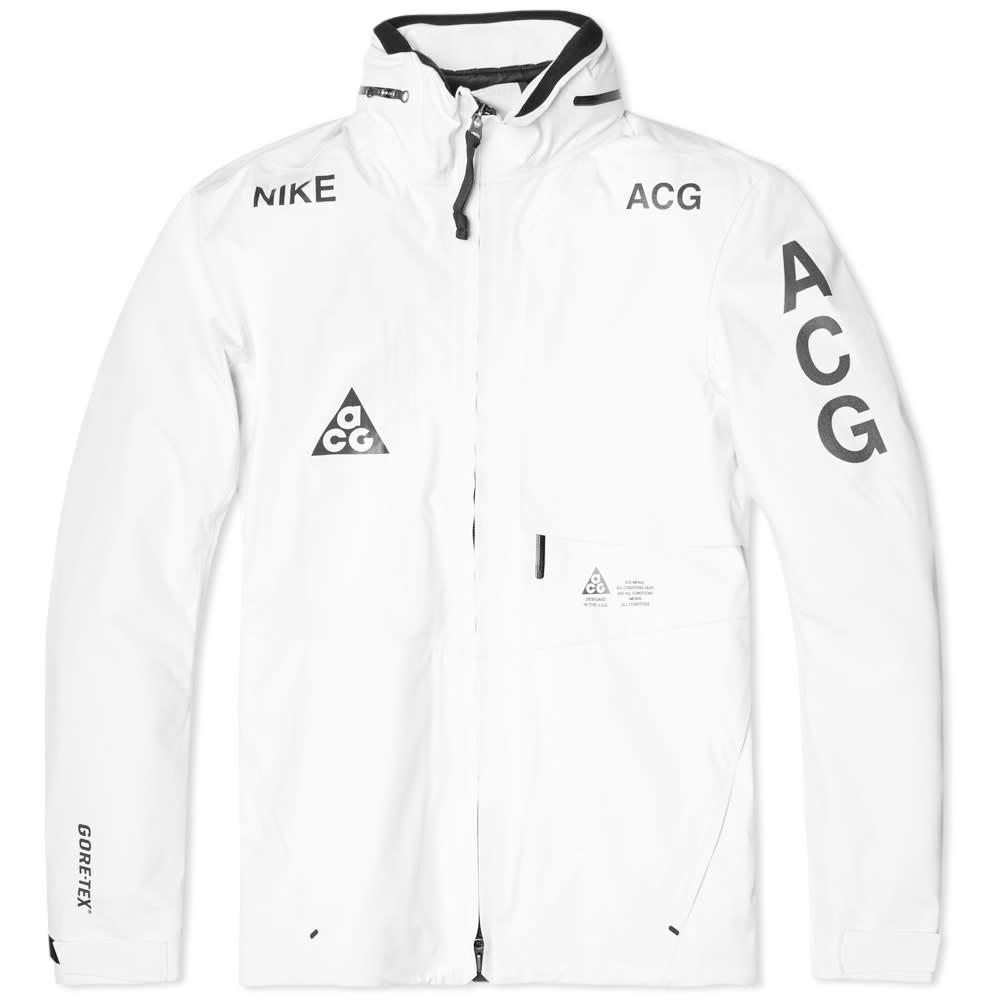 NikeLab ACG 2 in 1 System Jacket - Summit White & Black
