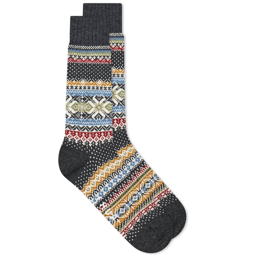 Chup Hansker Sock - Charcoal