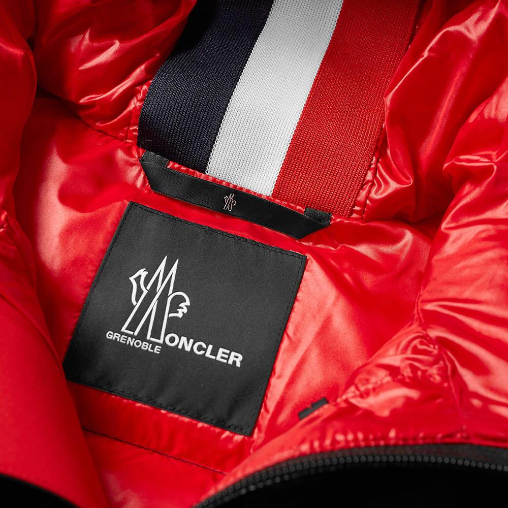 Moncler Grenoble Hintertux Hooded Down Ski Jacket - Black