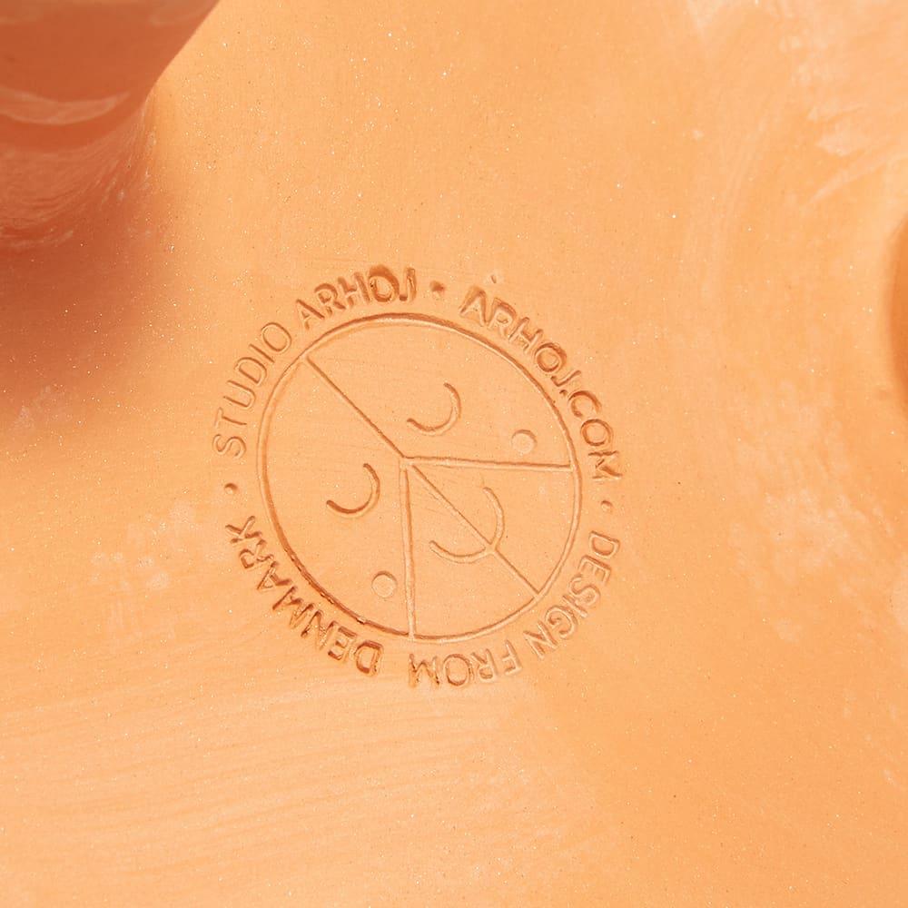 Studio Arhoj Big Tri-Pot - Terracotta