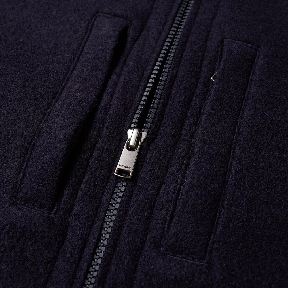 Nonnative Hiker Jersey Shirt Jacket - Navy