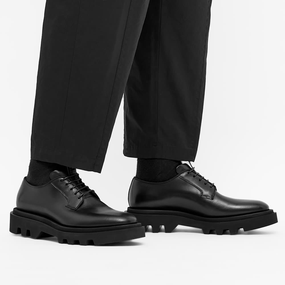 Givenchy Combat Derby Shoe - Black