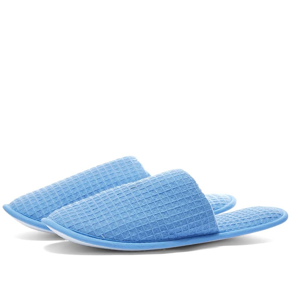 HAY Waffle Slippers - Sky Blue