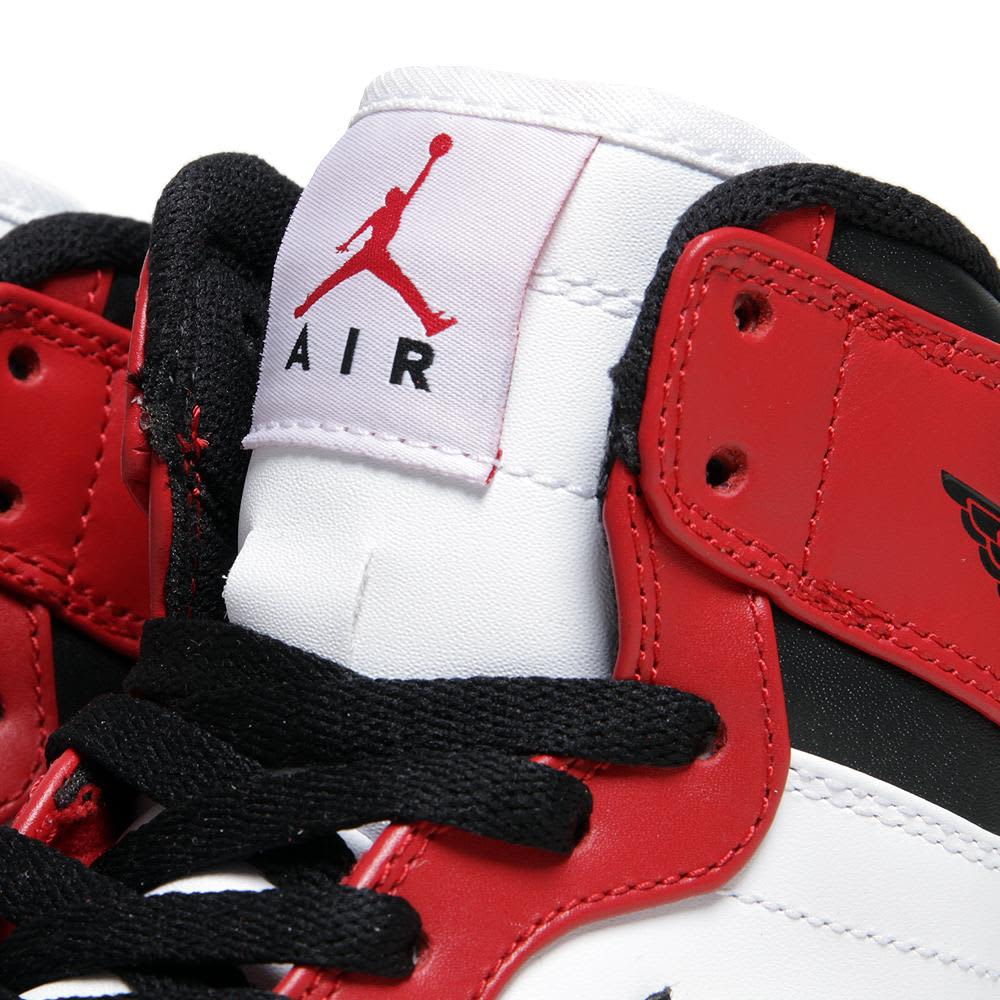 Nike Air Jordan 1 Retro High - Black, Varsity Red & White