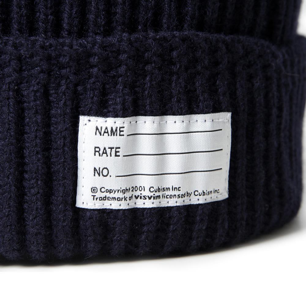 Visvim Knit Beanie - Navy
