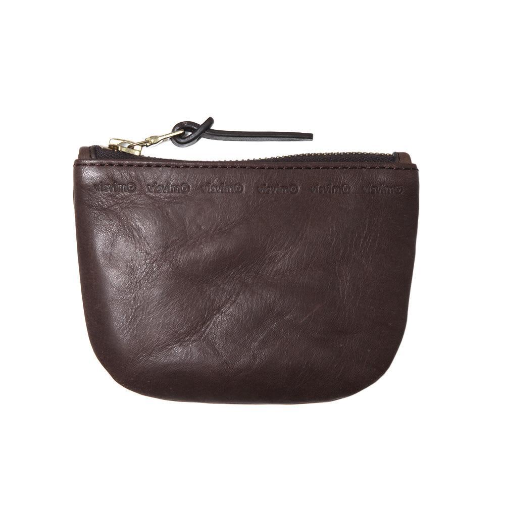 Visvim Veggie Wallet - Dark Brown