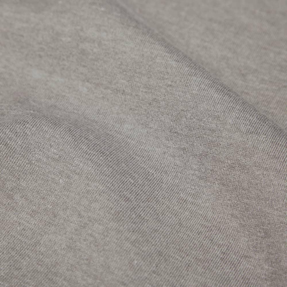Nanamica Coolmax Loopwheel Jersey Long Sleeve Tee - Heather Grey
