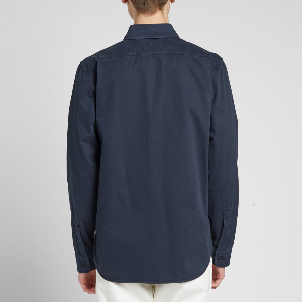 Aspesi Garment Dyed Chore Jacket - Navy