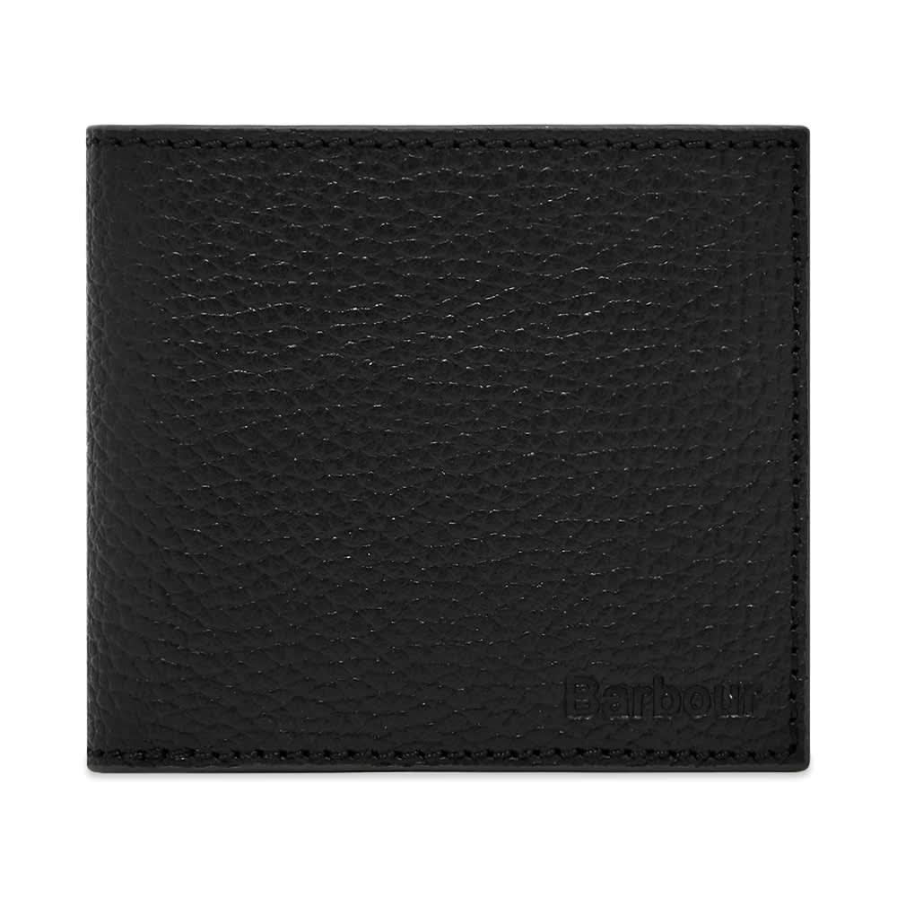 Barbour Grain Leather Wallet - Black