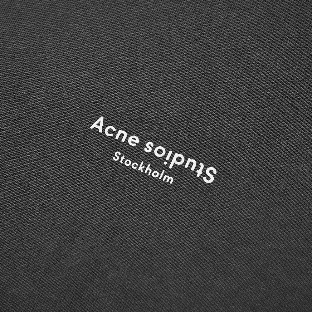 Acne Studios Erwin Lightweight Stamp Logo Hoody - Black