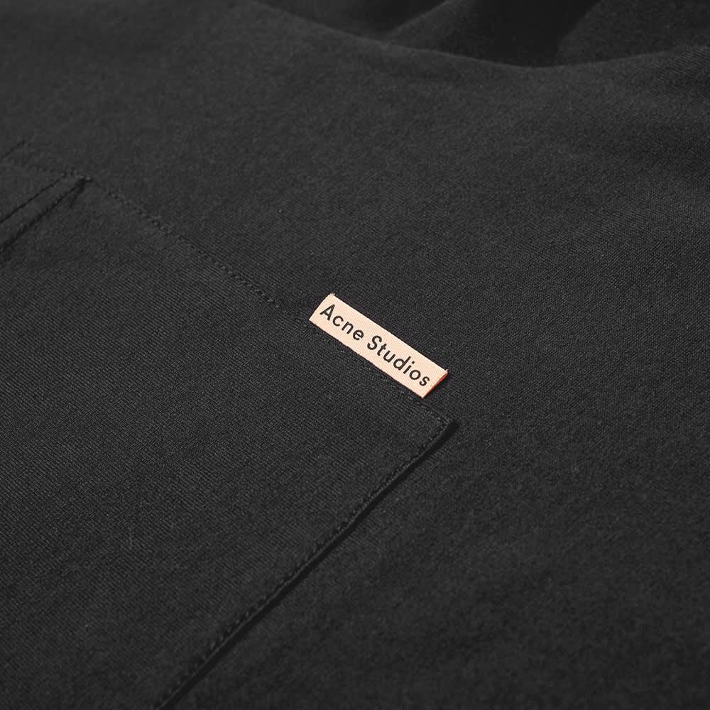 Acne Studios Extorr Pink Label Pocket Tee - Black