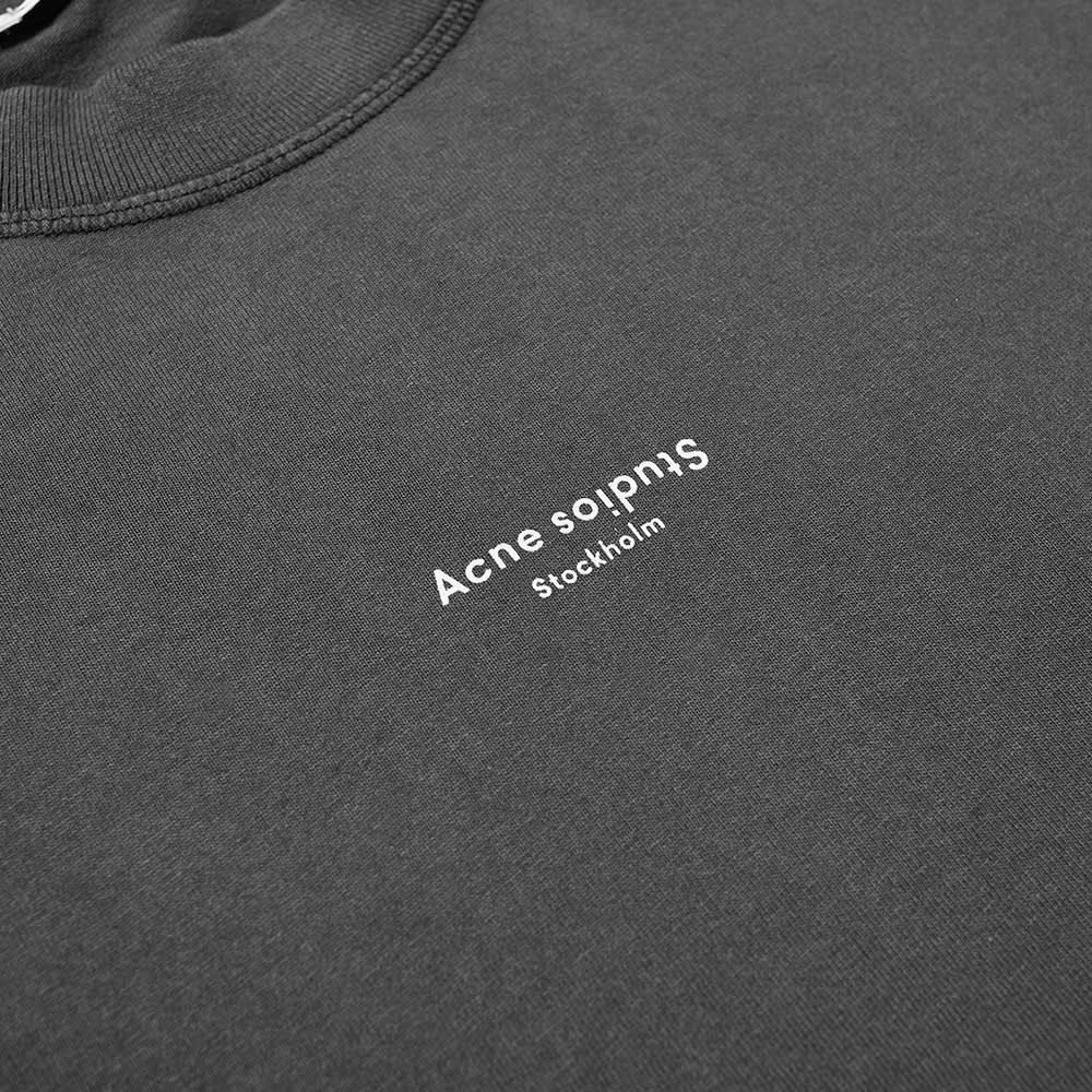 Acne Studios Extorr Stamp Logo Tee - Black