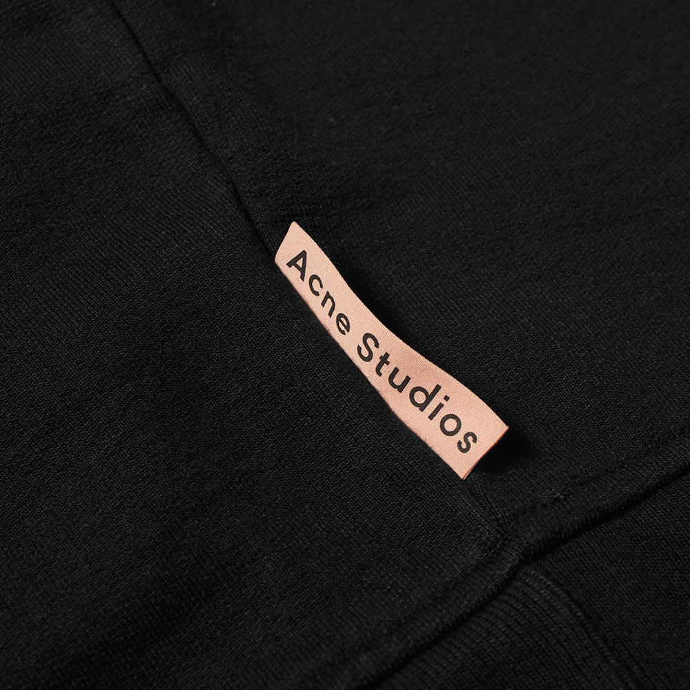 Acne Studios Fate Pink Label Crew Sweat - Black