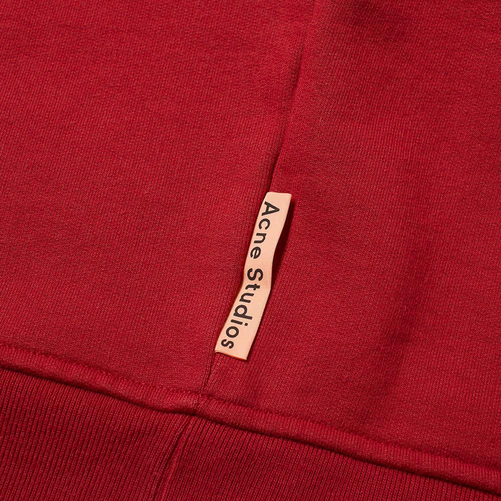 Acne Studios Fate Pink Label Crew Sweat - Burgundy