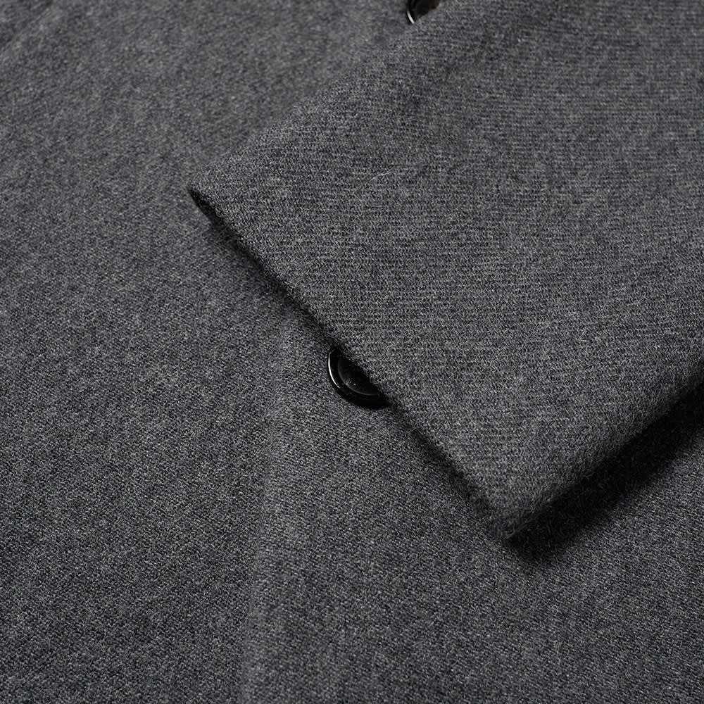 Acne Studios Ovidius Wool Coat - Grey Melange